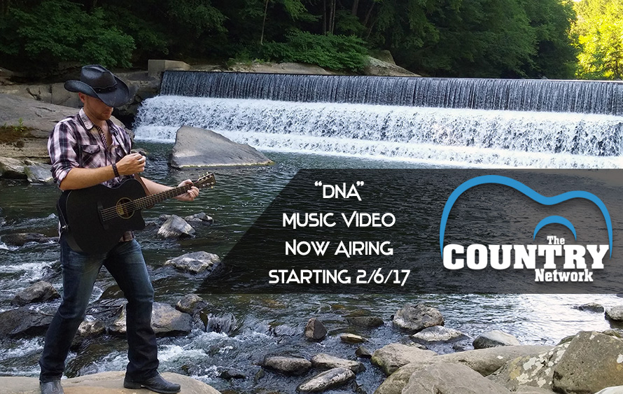 DNA Music Video Now Airing on The Country Network